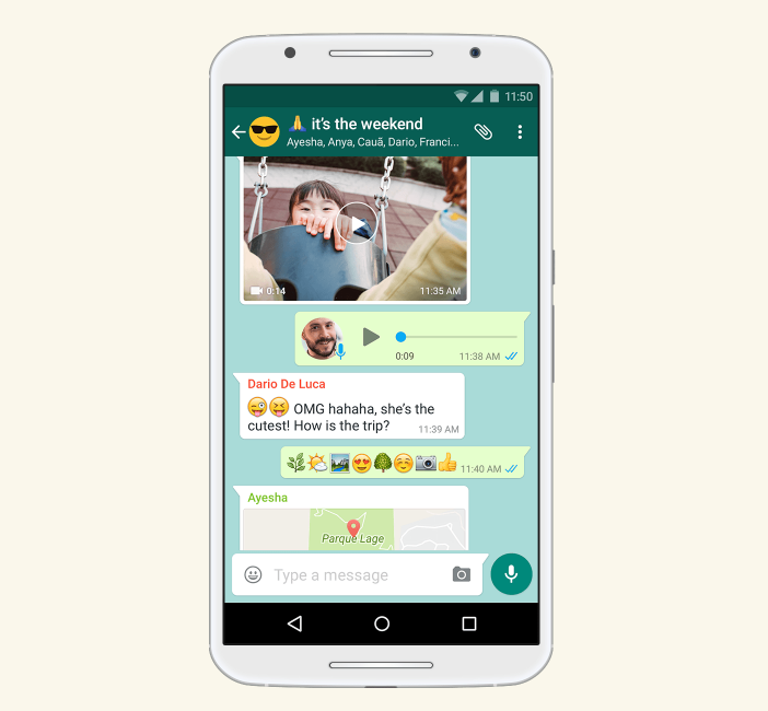 How to send GIFs on WhatsApp