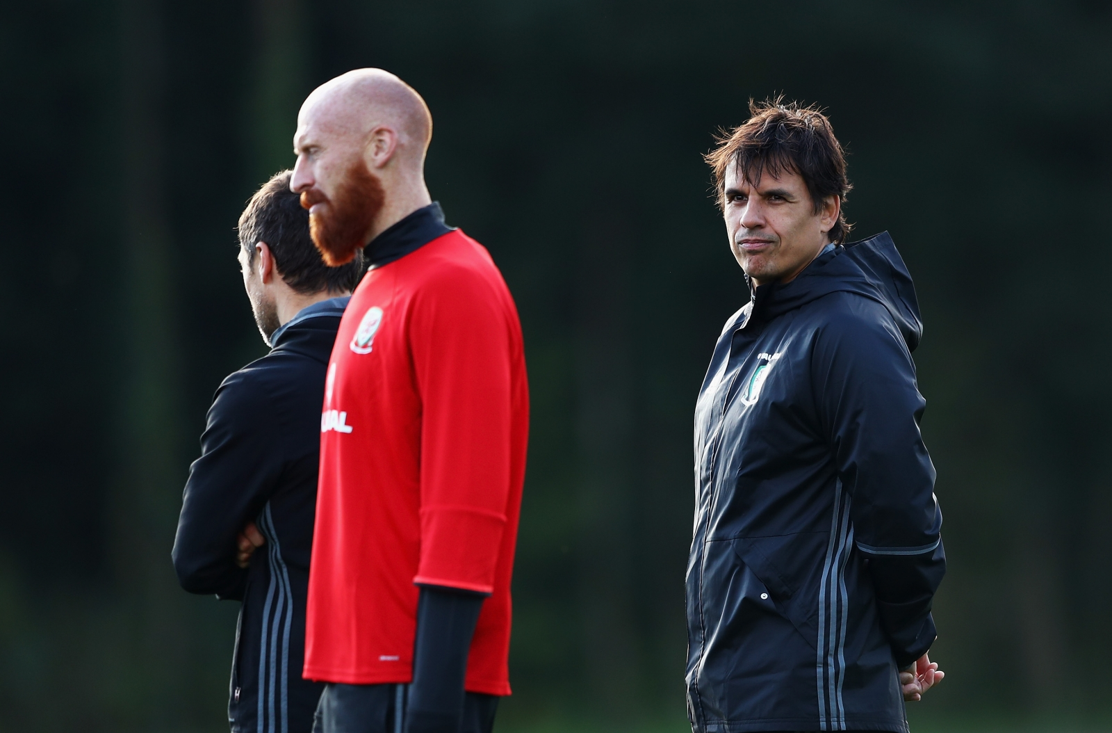 James Collins and Chris Coleman