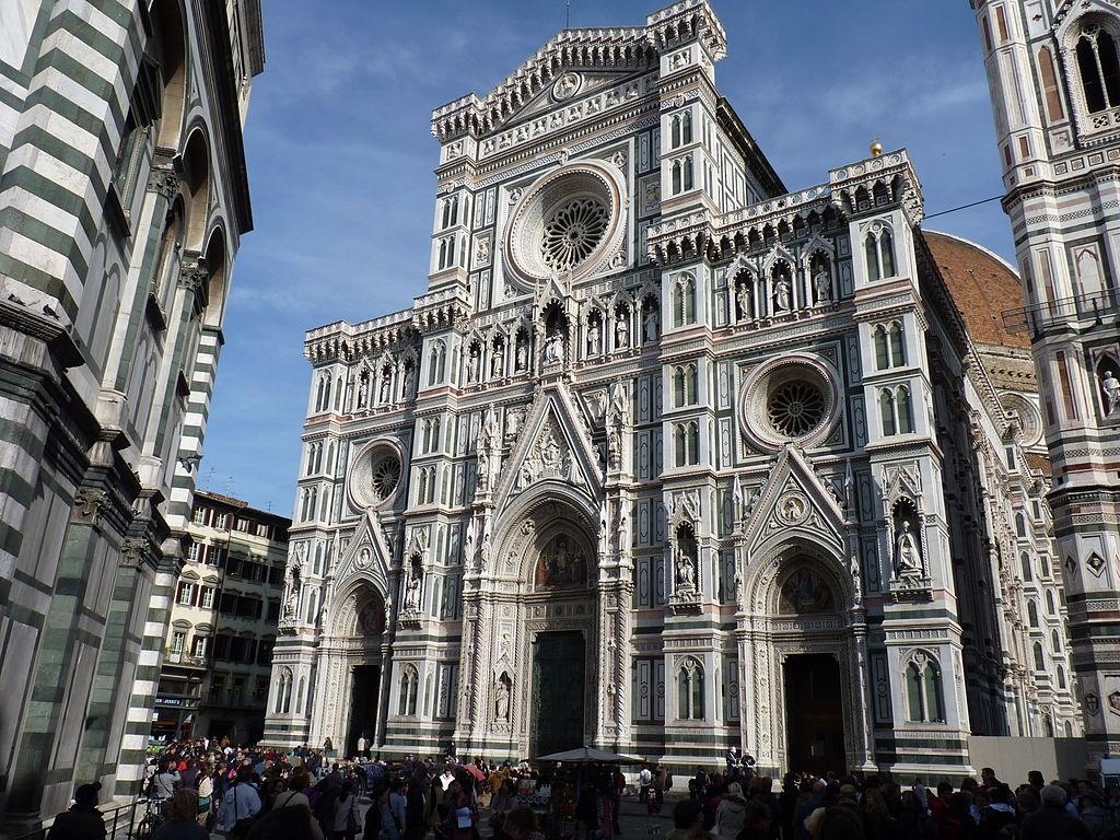 Facade of Cattedrale di Santa Maria del Fiore