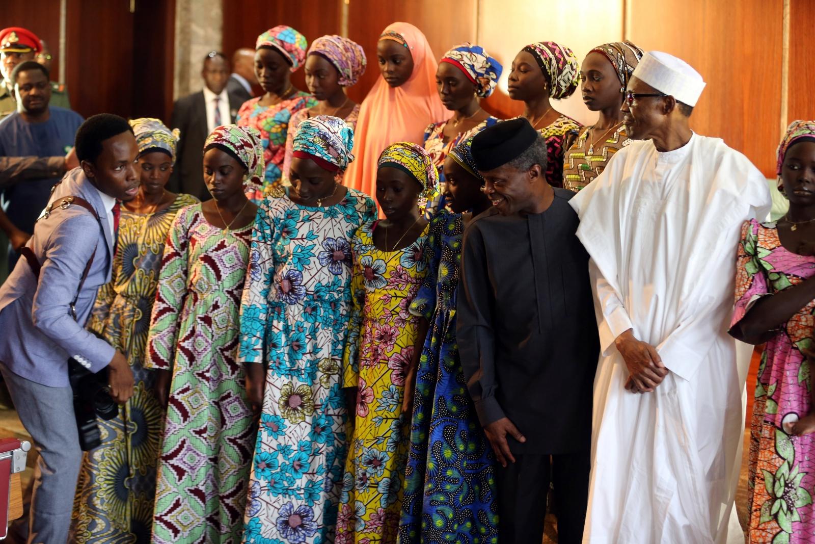 21 Chibok school girls freed by Boko Haram
