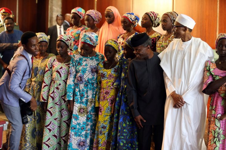 21 Chibok school girls freed by Boko Haram