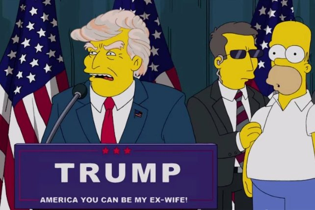The Simpsons Donald Trump