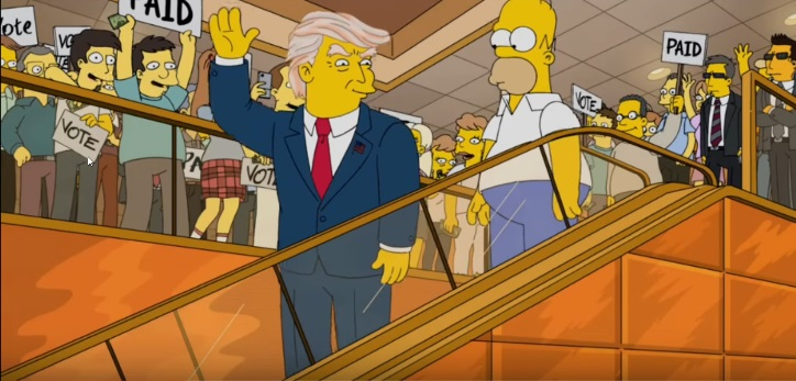 Donald Trump in The Simpsons