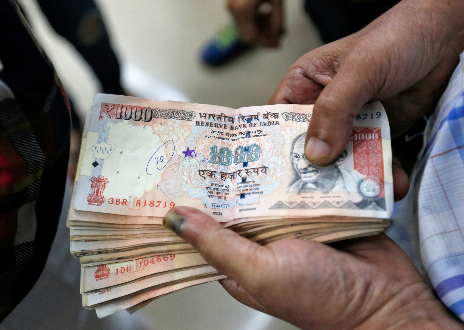 India demonetisation high value currency notes