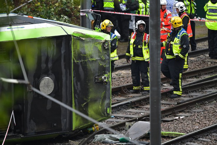 Croydon tram accident