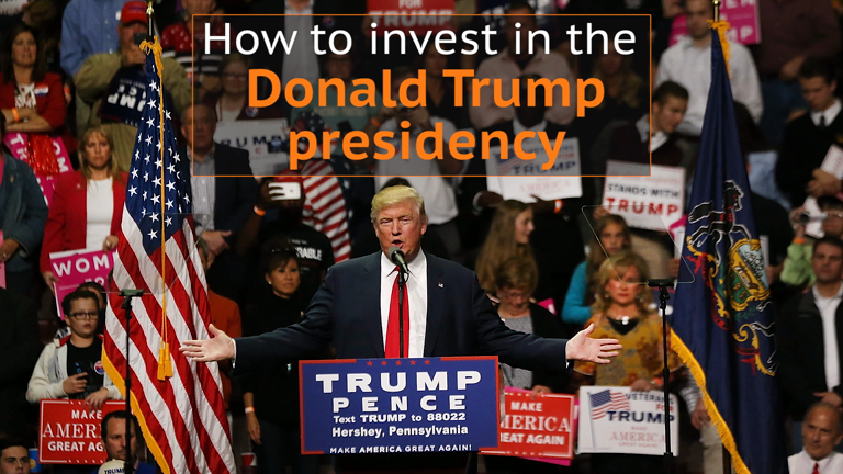 US Election: How you can invest in Donald Trump's victory