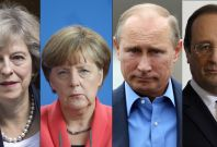 World leaders congratulate Trump on presidency