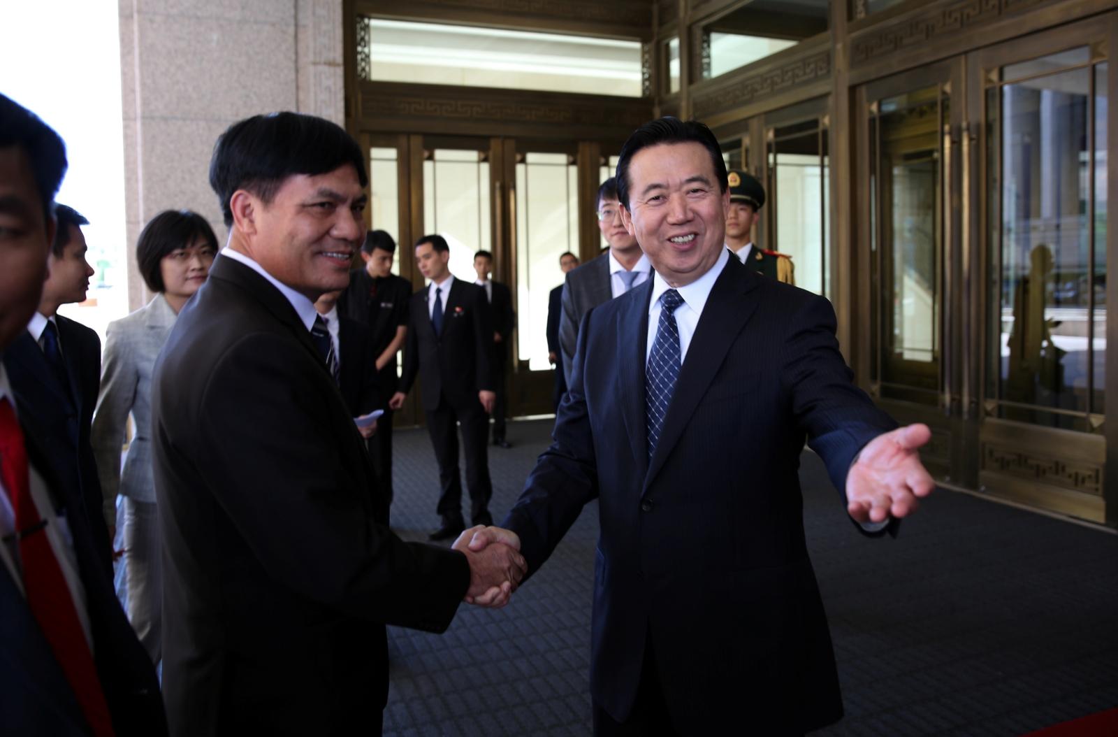 Meng Hongwei Interpol