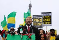 Opposition leader Jean Ping