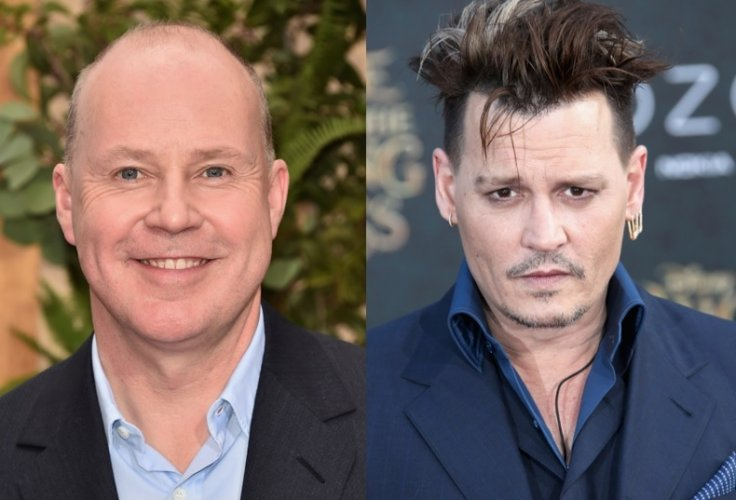 David Yates and Johnny Depp