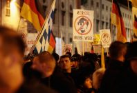 Pegida protest
