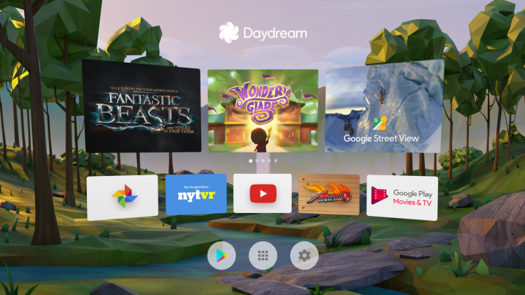 Google Daydream View home