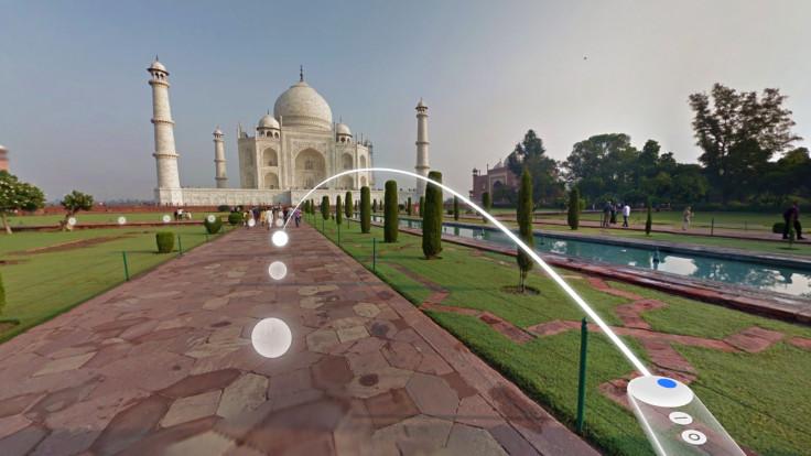 Google Daydream View Street View