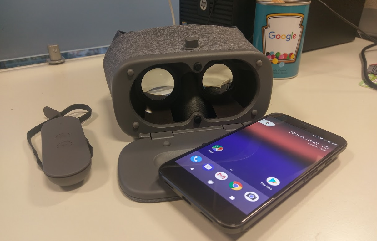 Google Daydream View set up Pixel XL