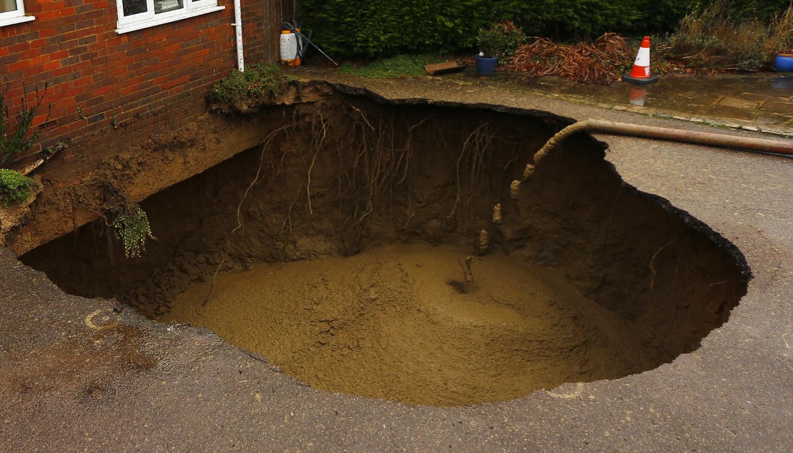 UK sinkhole