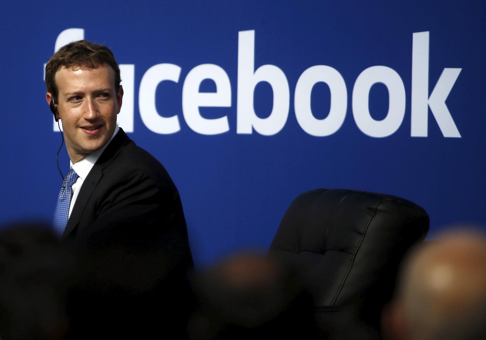 Facebook Mark Zuckerberg on Donald Trump