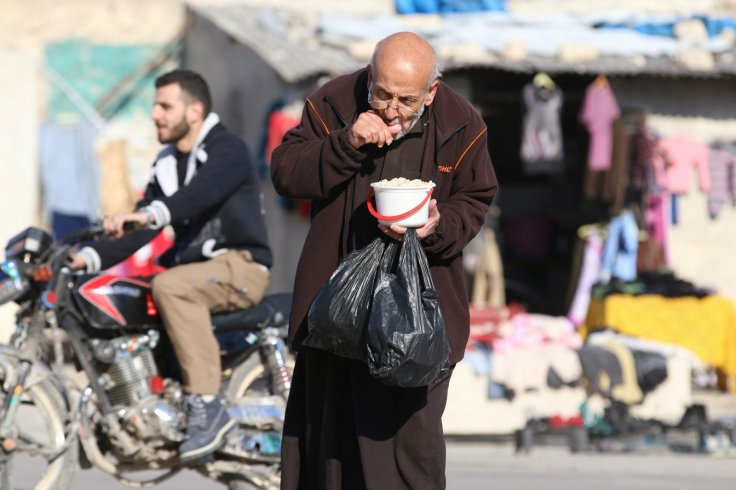 Food supplies running out in Aleppo