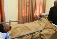 John Magufuli visits wife in public hospital