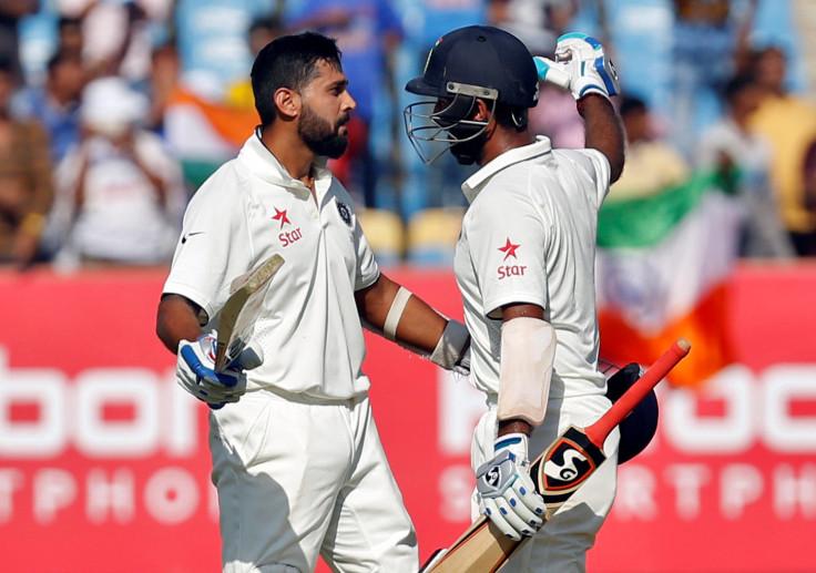 Cheteshwar Pujara and Murali Vijay