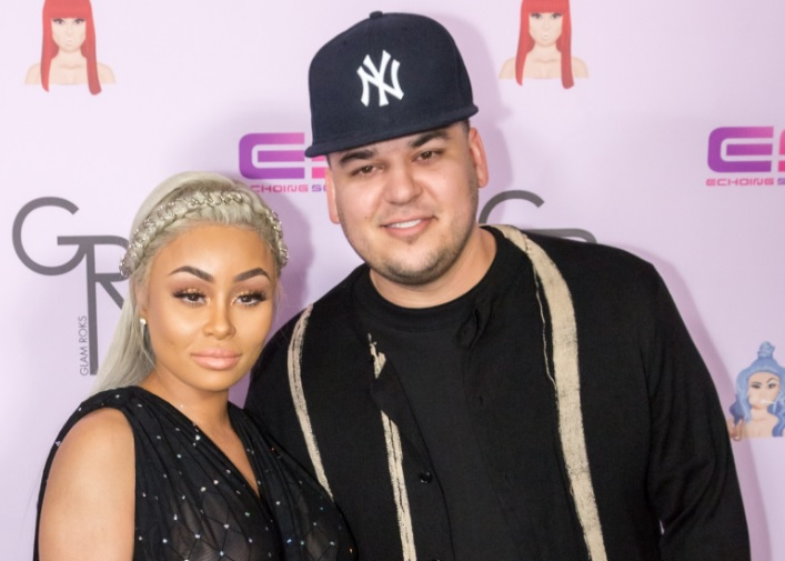Blac Chyna and Rob Kardashian
