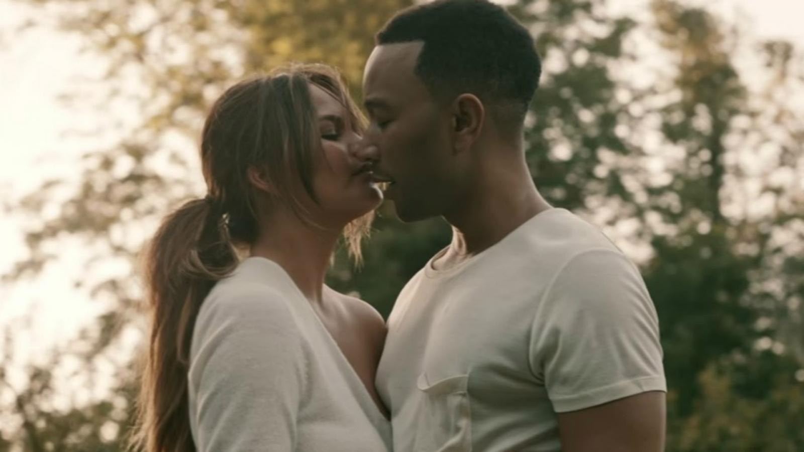 John Legend: Love Me Now Video Premieres Starring Wife ...