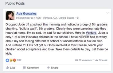 Trump racism schools