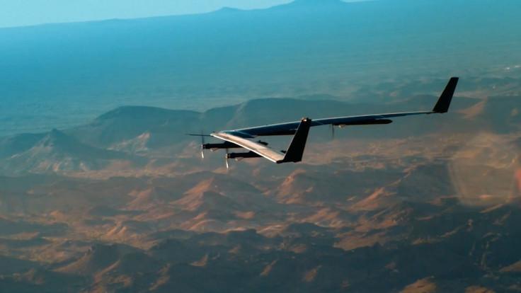 Facebook's Aquila solar-powered millimetre wave internet drone