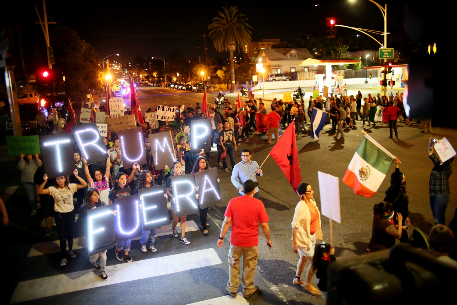 Anti-Trump protests continue for 3rd night, but mostly remain peaceful