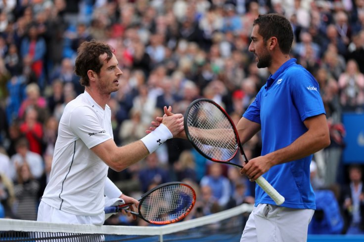 Andy Murray and Marin Cilic