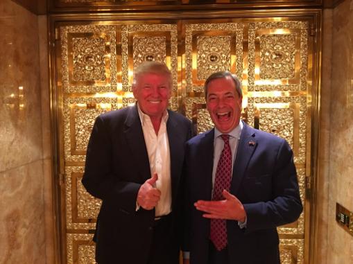 Trump and Farage