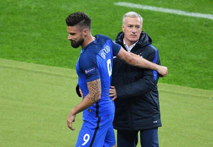 Olivier Giroud-Didier Deschamps