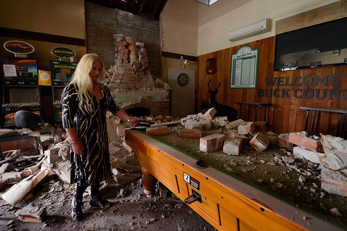 NZ earthquake