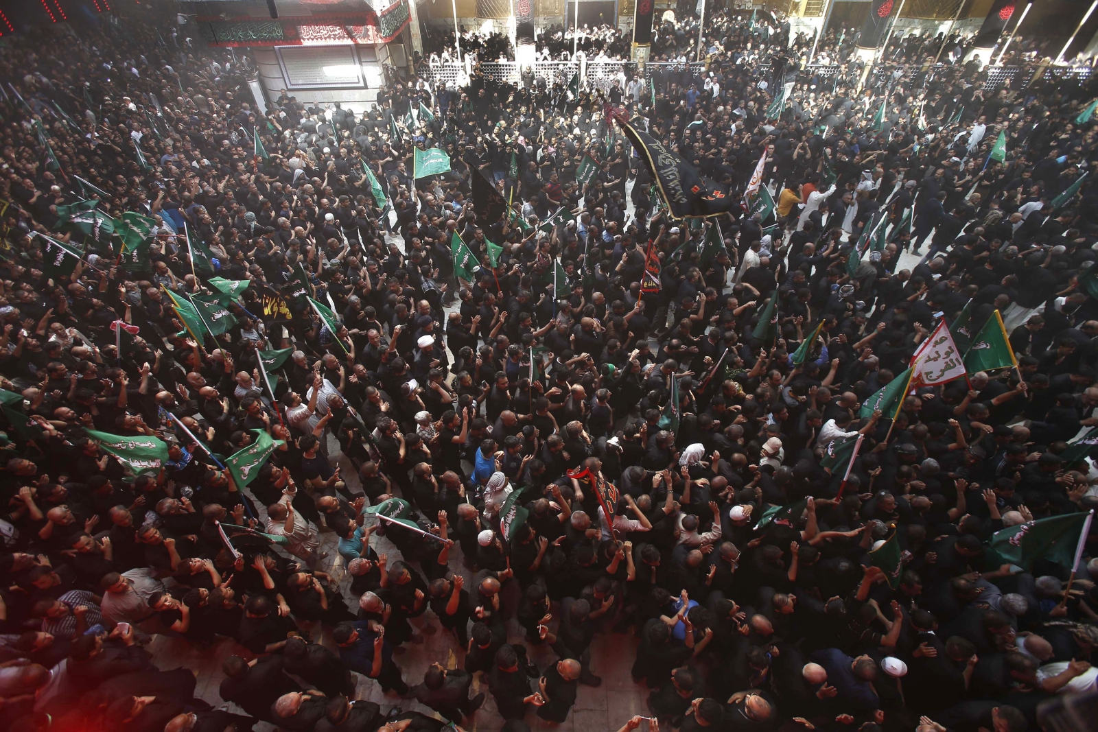 The holy city of Karbala