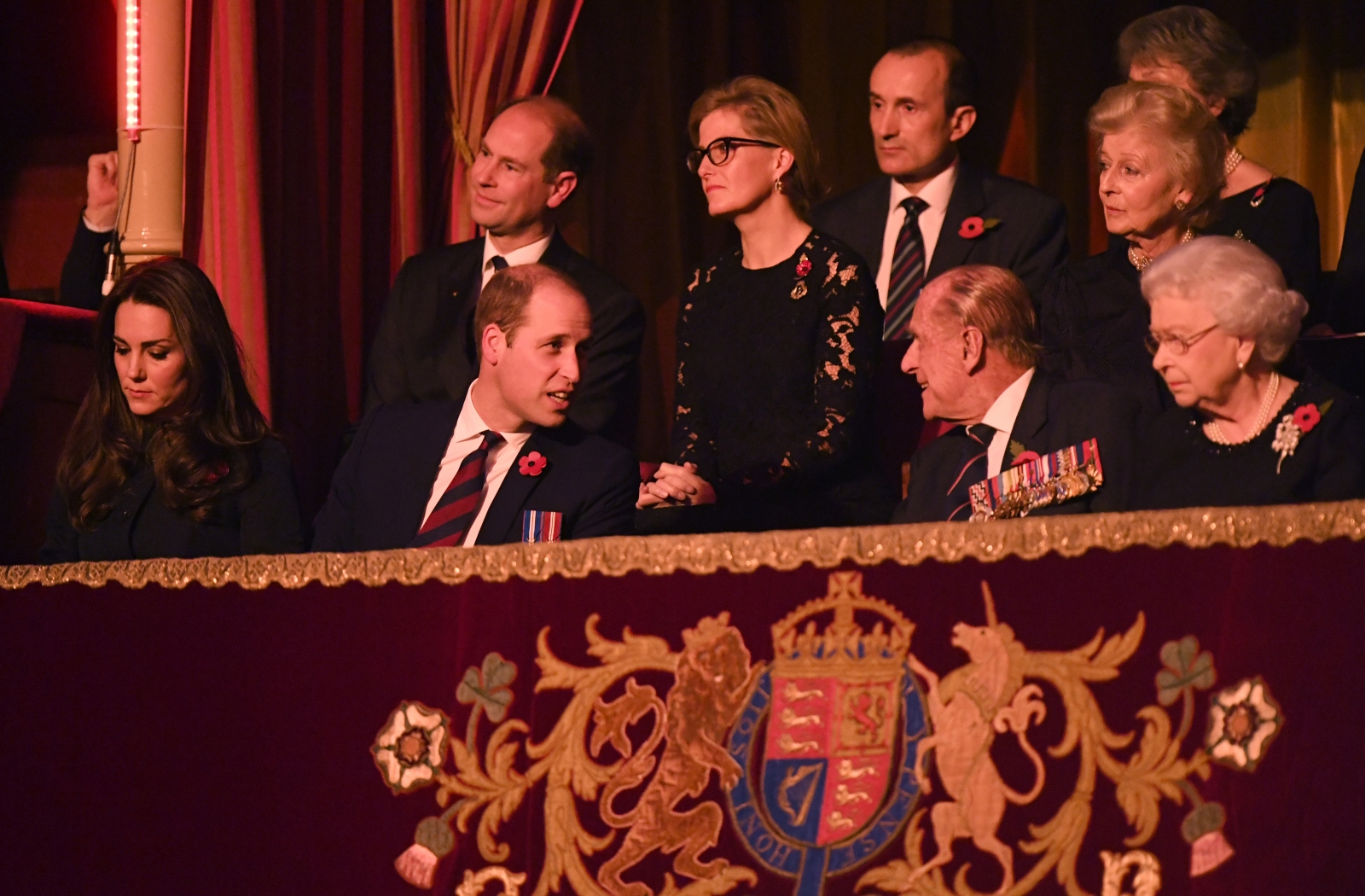Kate, William, Philip and the Queen Concert