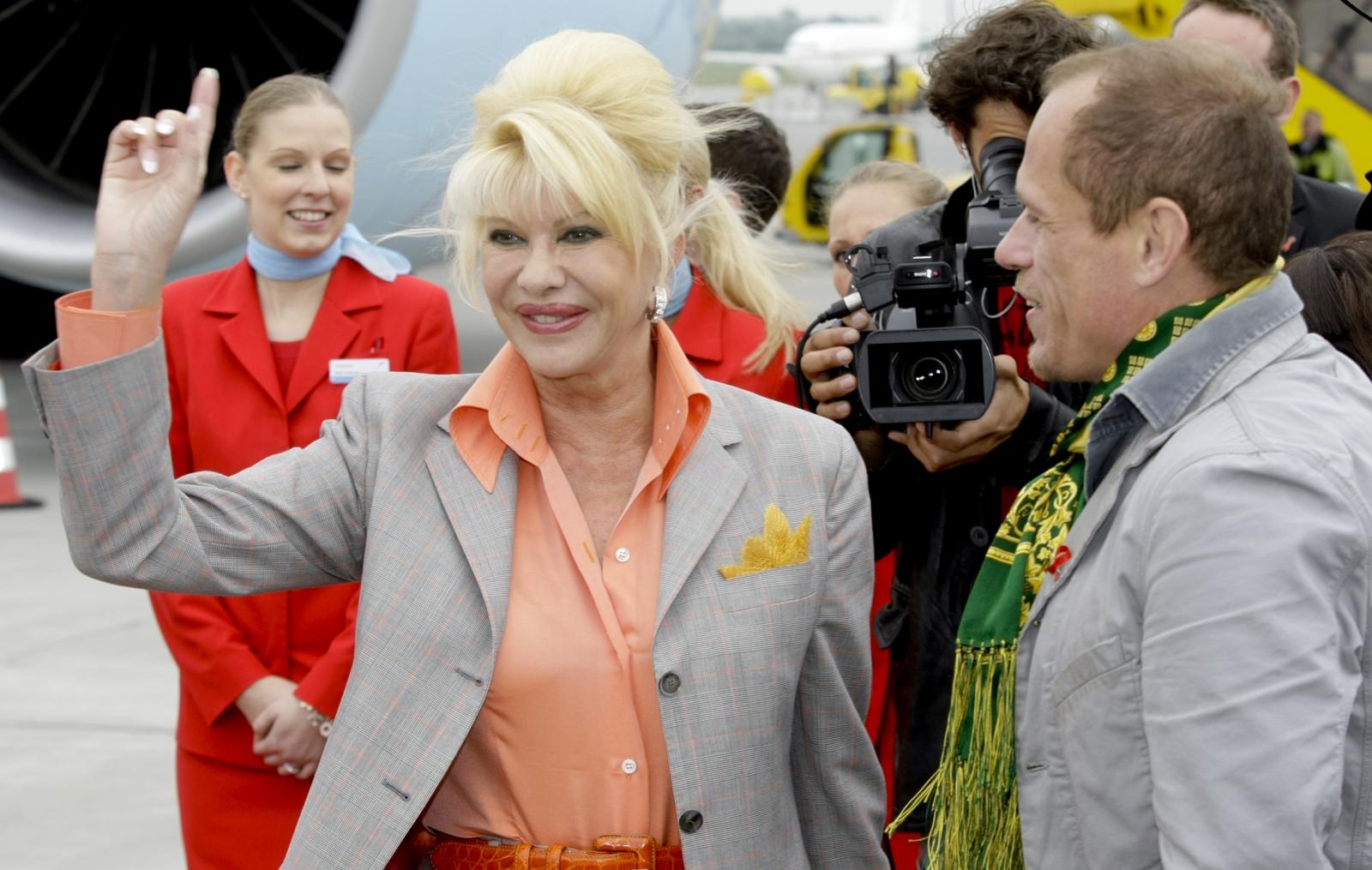 Ivana Trump in 2009