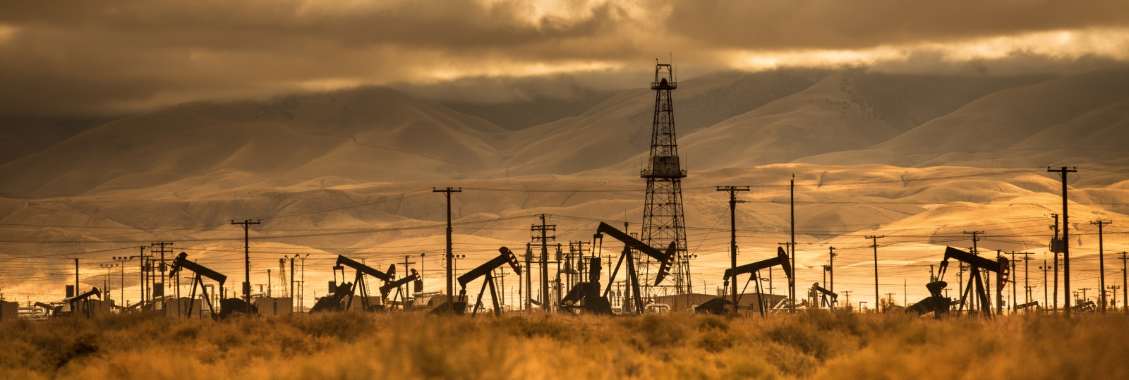 oil well abandoned