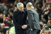 Jose Mourinho and Pep Guardiola
