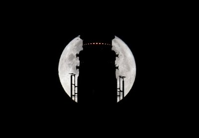 Super moon supermoon