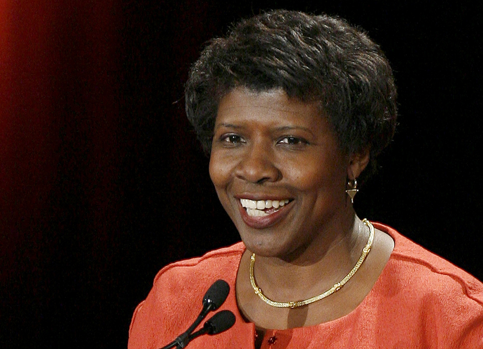 US journalist Gwen Ifill