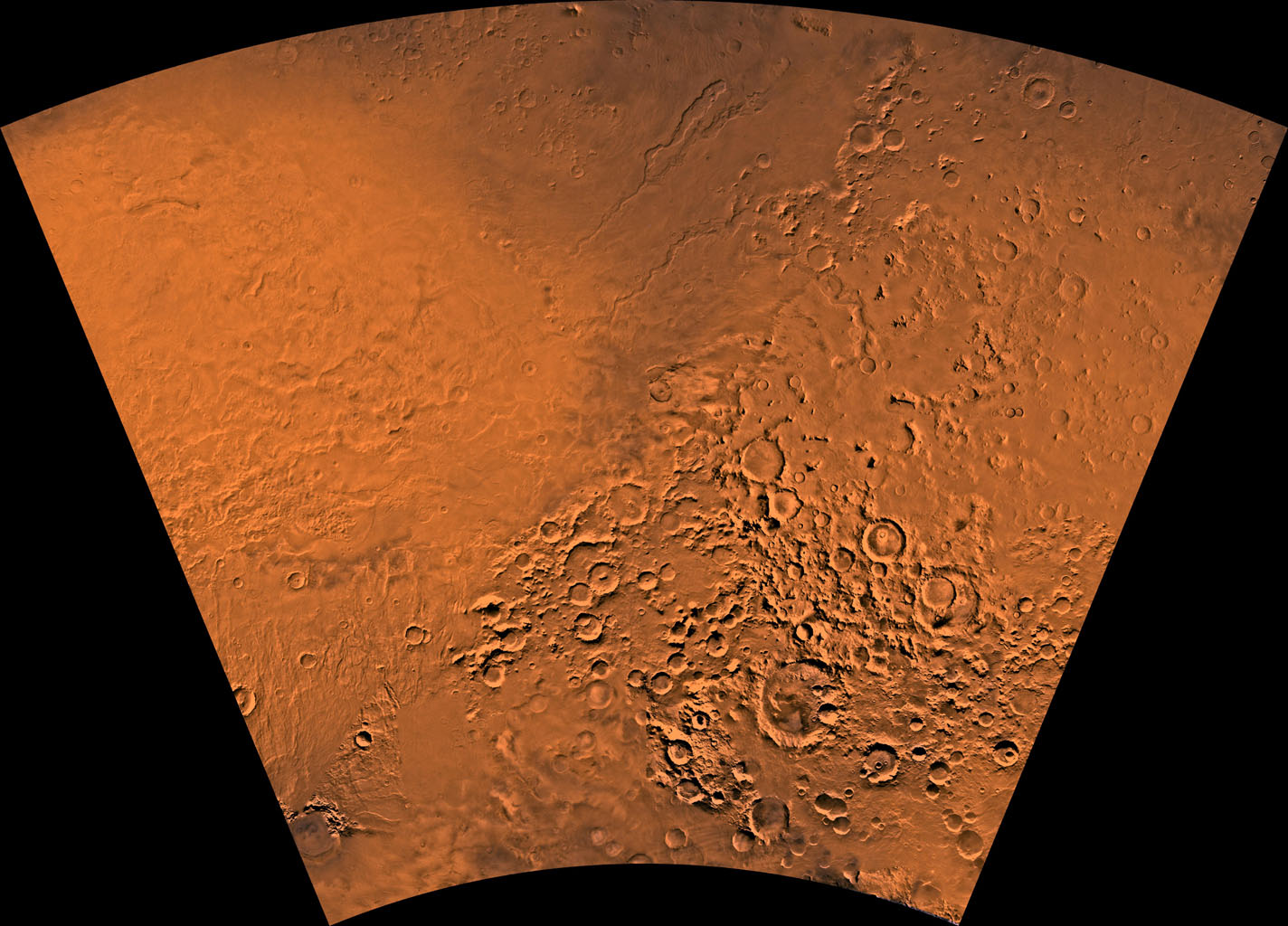 Hellas region of Mars