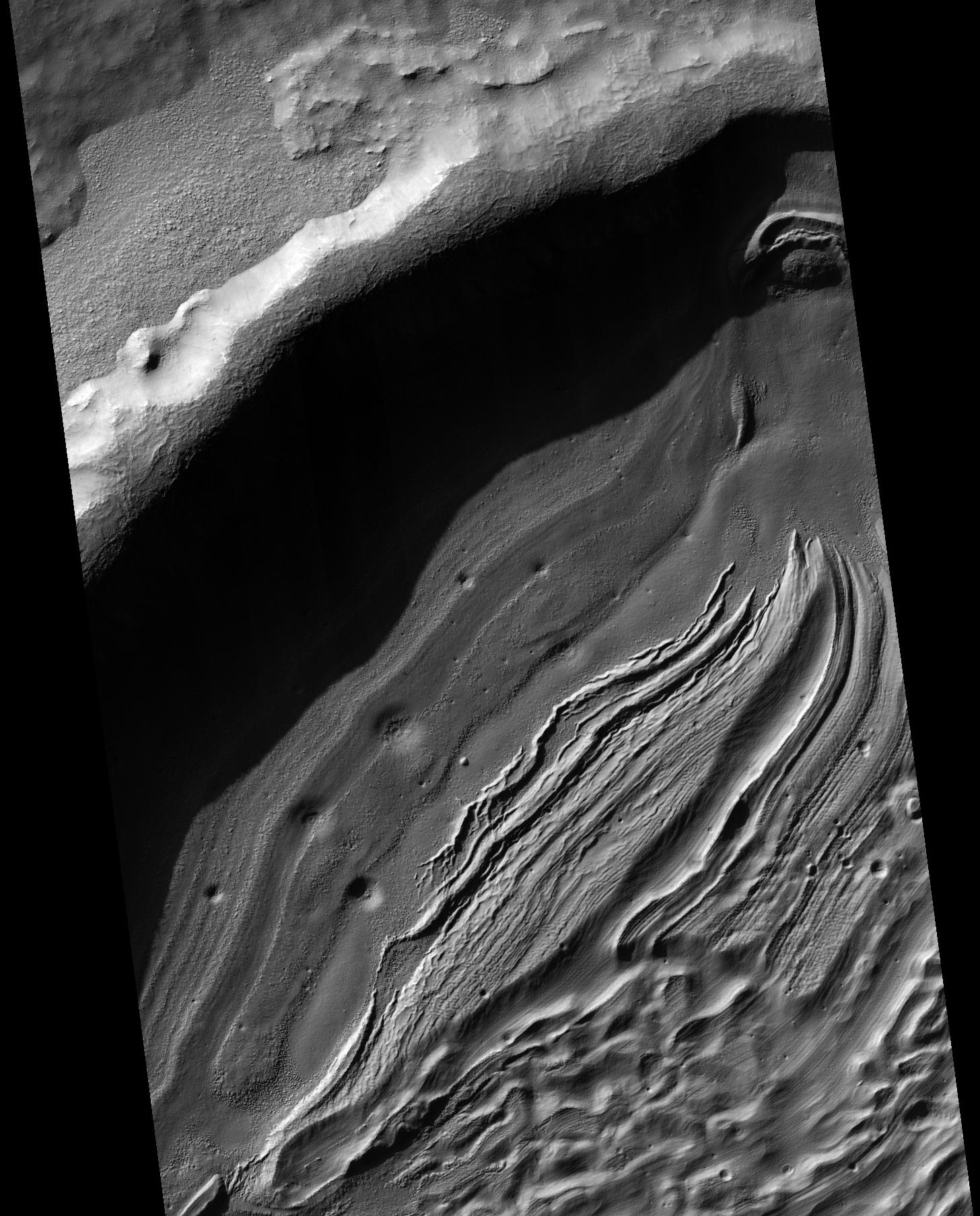 Hellas crater relief