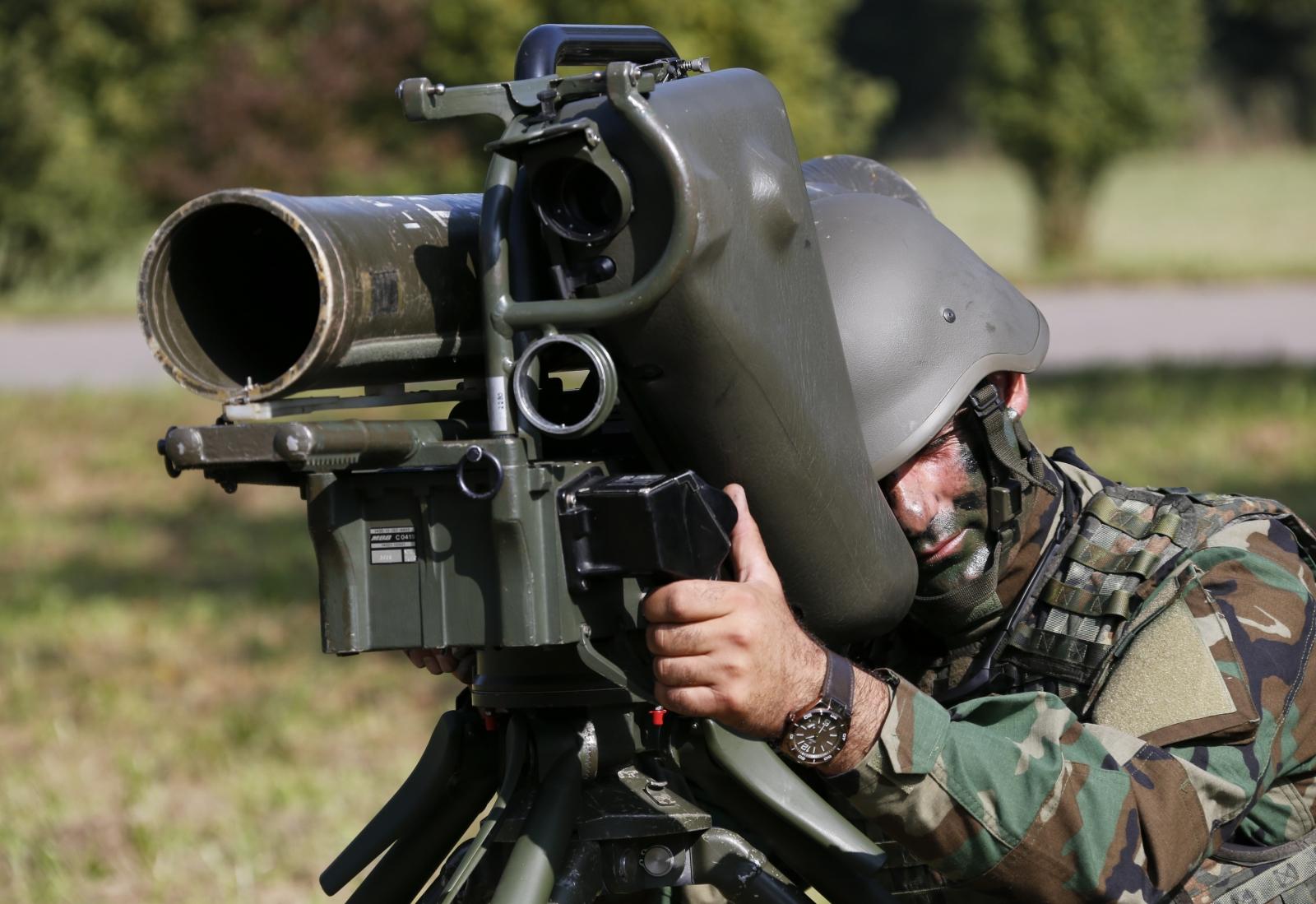 Anti-tank light infantry missile MILAN