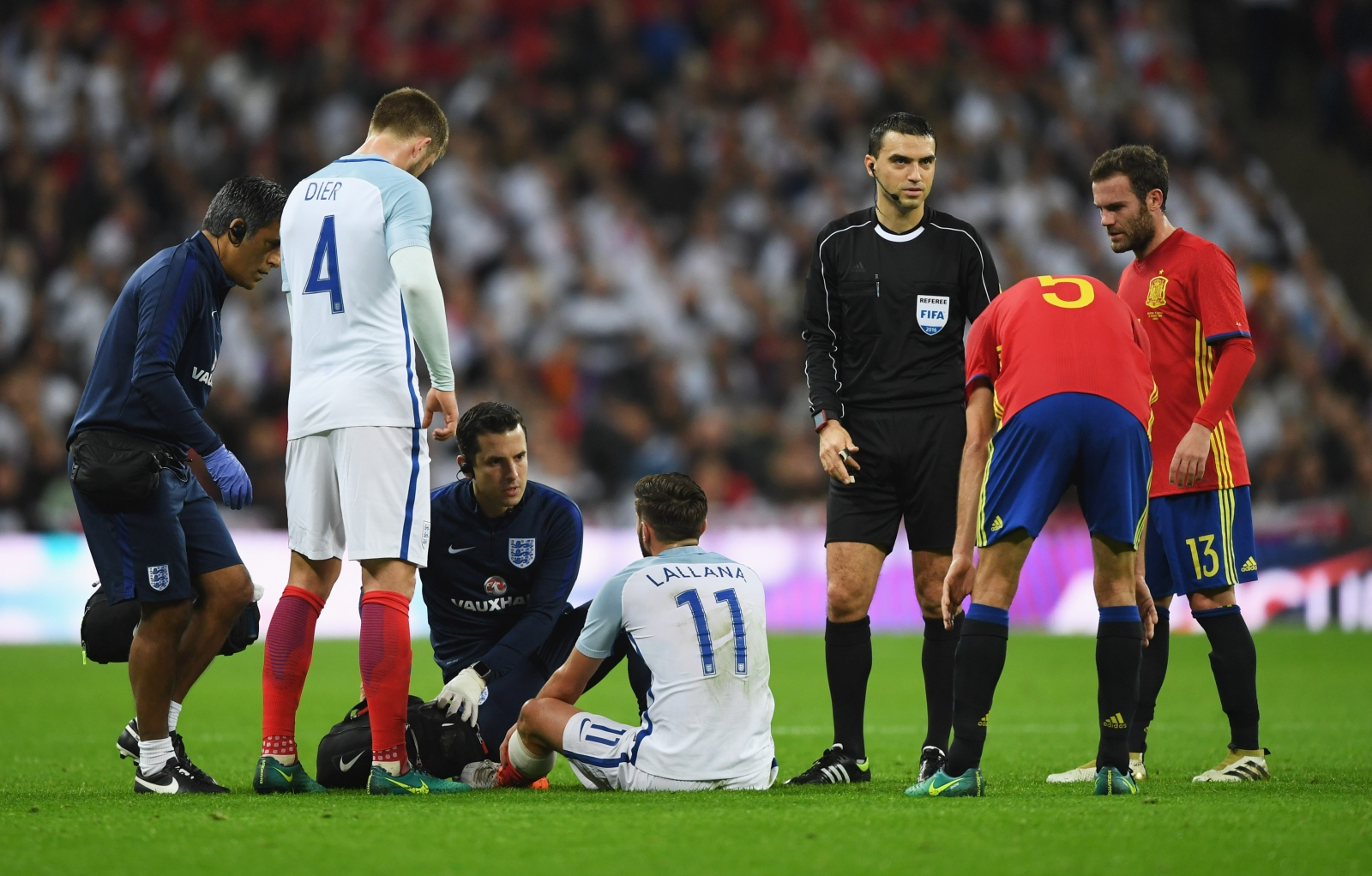 Updates on Liverpool's Adam Lallana after his injury for England