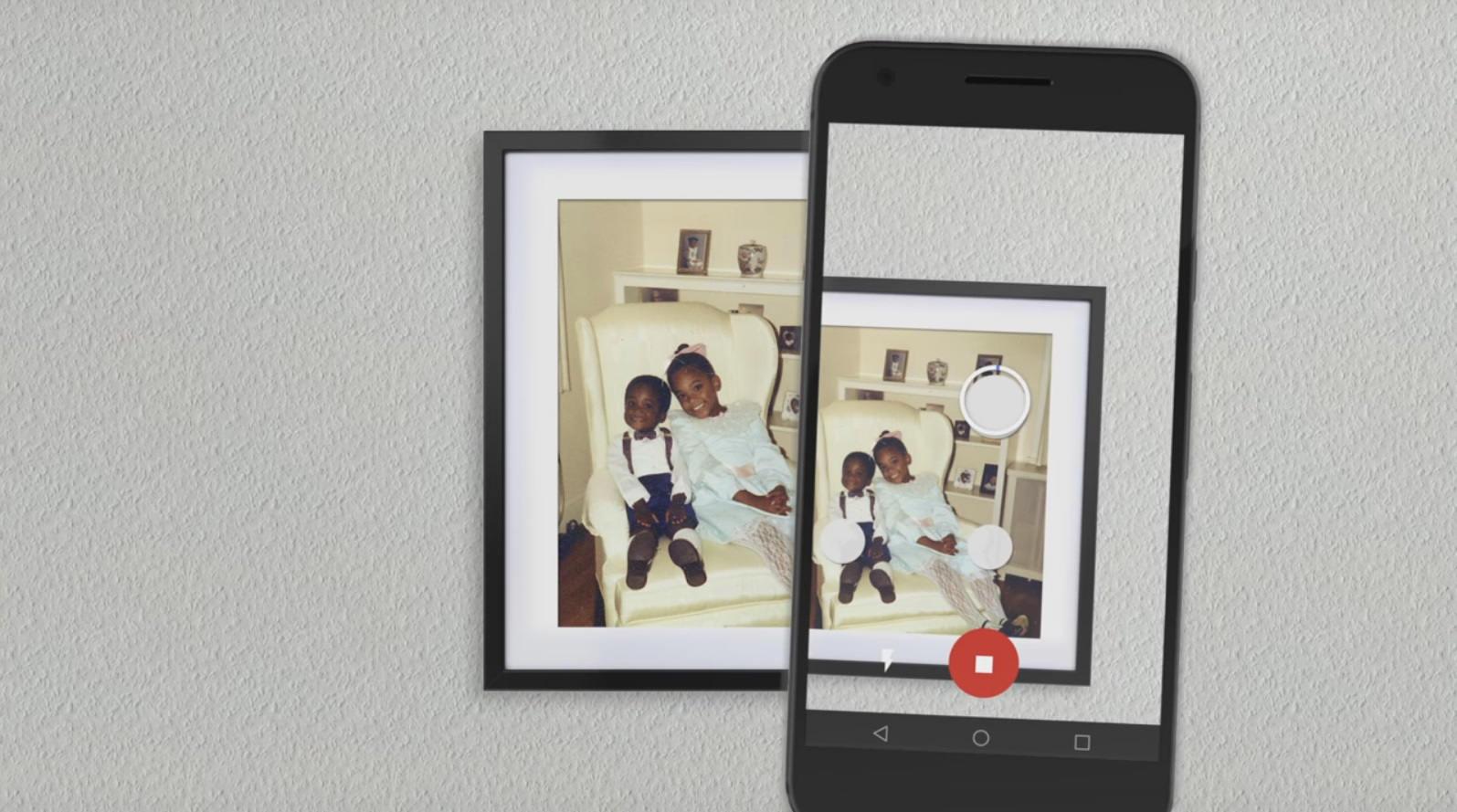 Google PhotoScan turns your prints into high-quality digital images