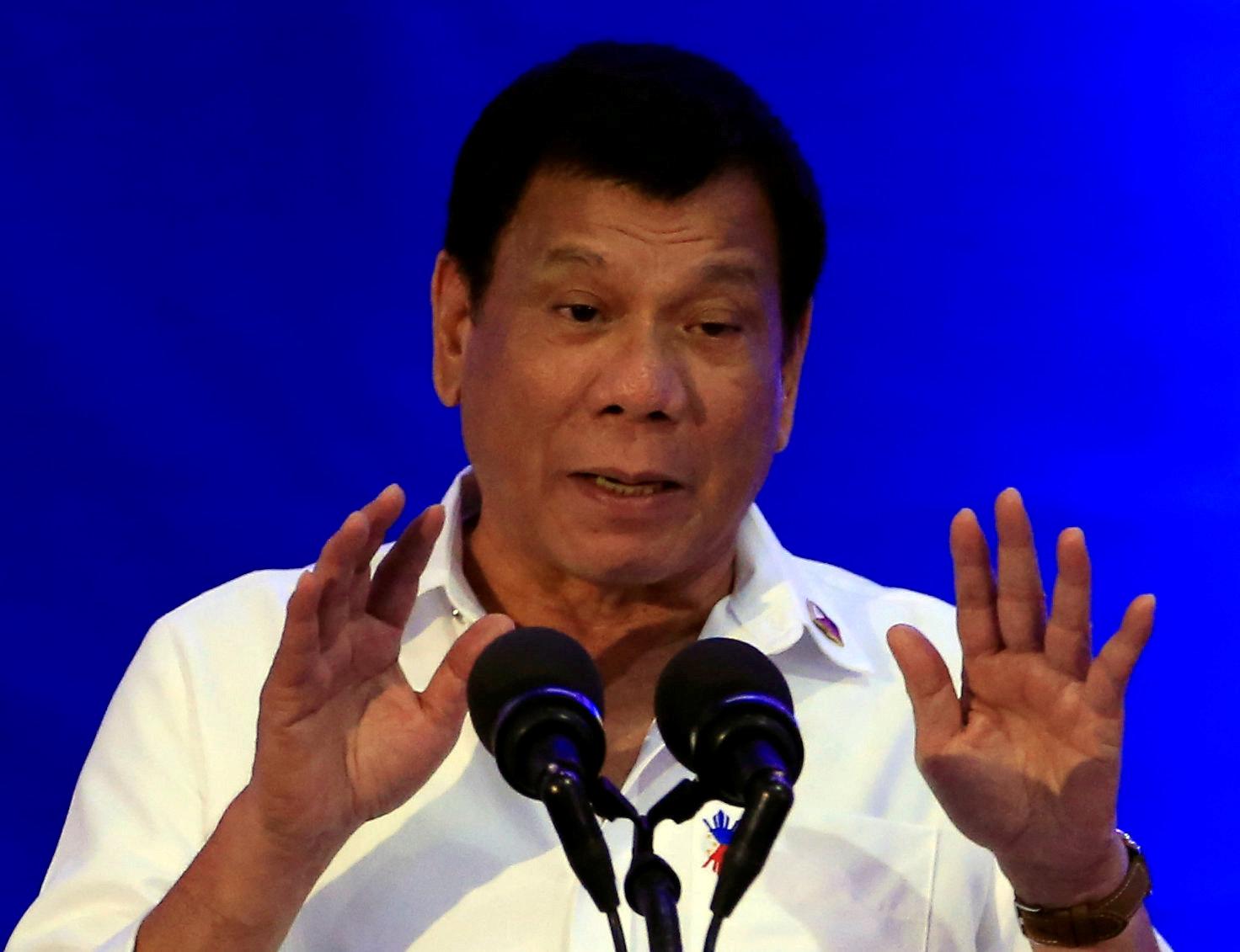 Rodrigo Duterte on Trump