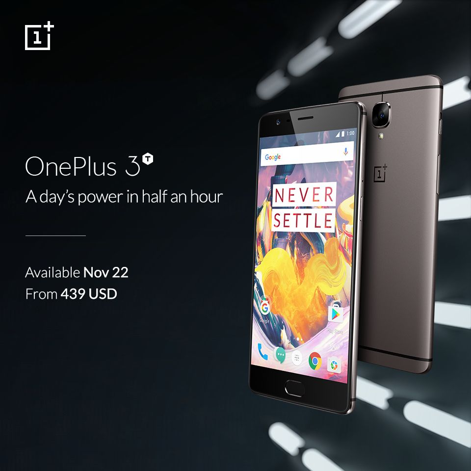 The OnePlus 3T