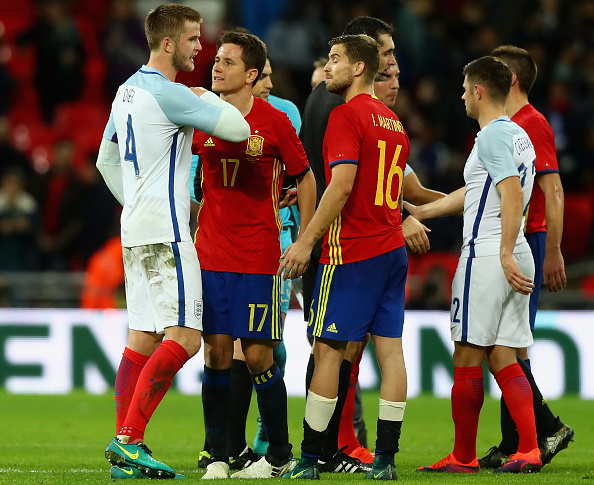 Eric Dier and Ander Herrera