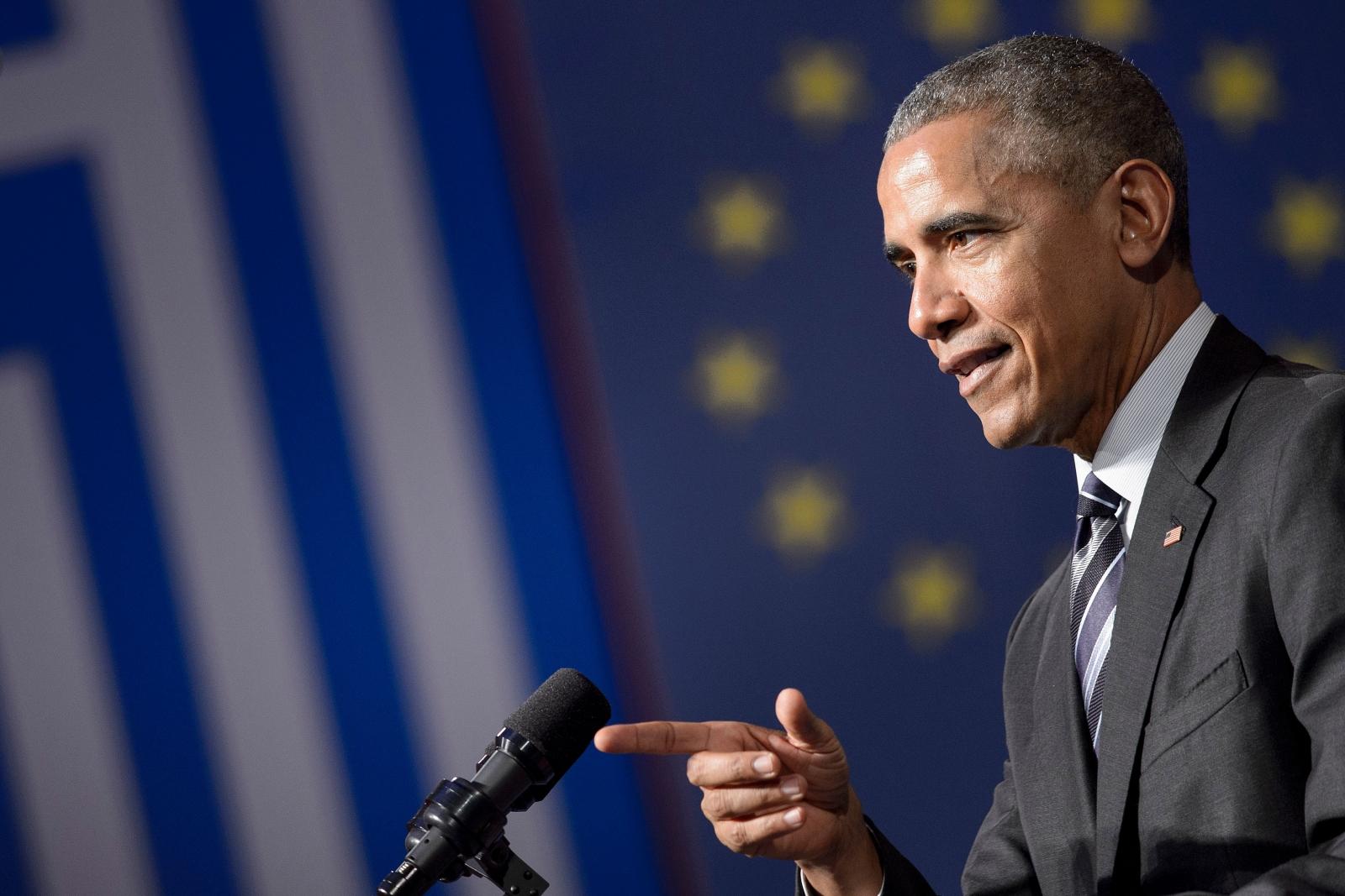 Obama speech in Greece