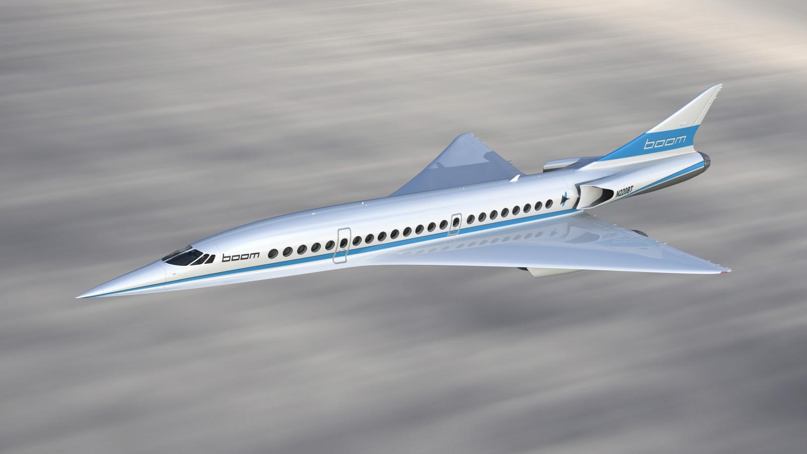Boom XB-1 supersonic jet