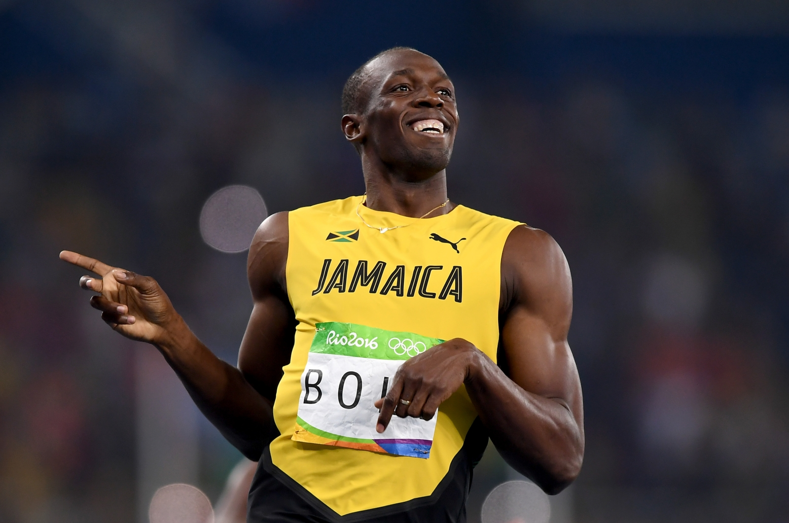 Usain Bolt: Olympic icon presented with custom Puma boots ...